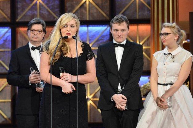 Producenti filmu Hořící keř převzali 22. února v pražském Rudolfinu výroční cenu České filmové a televizní akademie Český lev za nejlepší film.