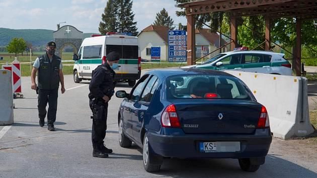Hraniční přechod na Slovensku