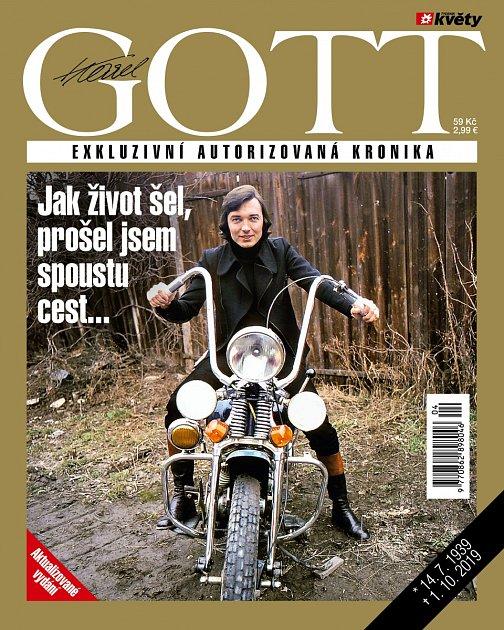 Karel Gott. Speciální edice Týdeníku Květy.