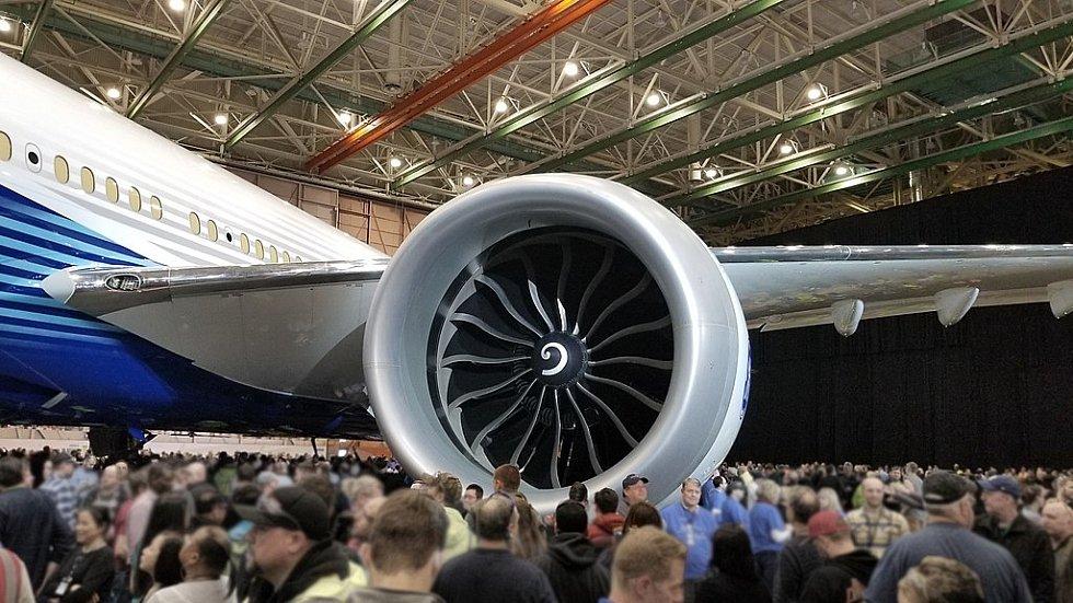 Motor GE9X na Boeingu 777X