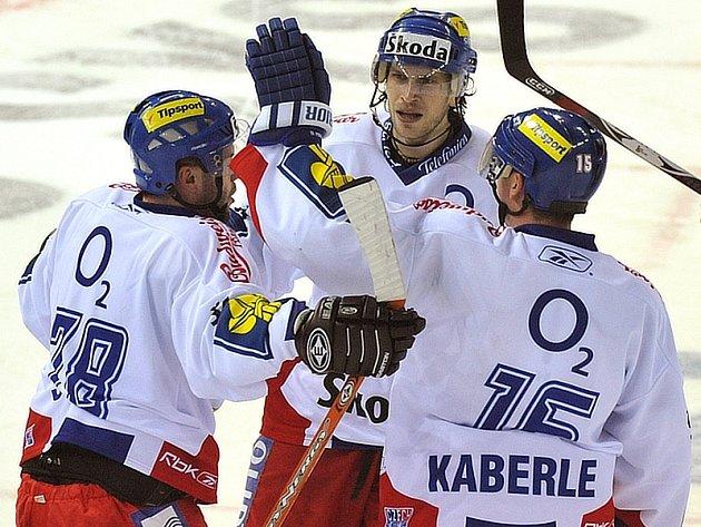 Radost českých hokejistů můžete sledovat v on-line přenosech Deníku.