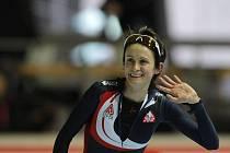 Martina Sáblíková zajela závod na 3000 metrů v Erfurtu v čase 4:03,65 vteřiny, což je její nejlepší výkon v sezoně.
