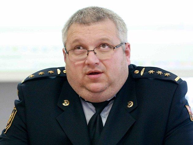 Ředitel Hasičského záchranného sboru (HZS) Jihomoravského kraje Jiří Pelikán