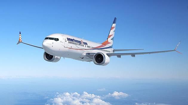 Boeing společnosti Travel Service v barvách SmartWings.