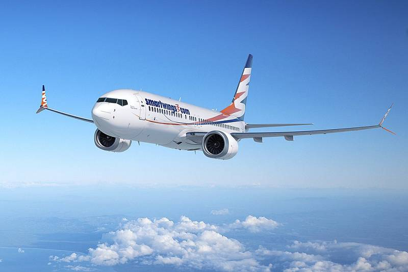 Boeing společnosti Travel Service v barvách SmartWings - Ilustrační foto