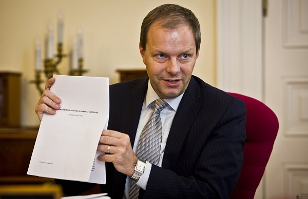 Ministr školství Marcel Chládek poskytl 22.srpna vPraze rozhovor Deníku.