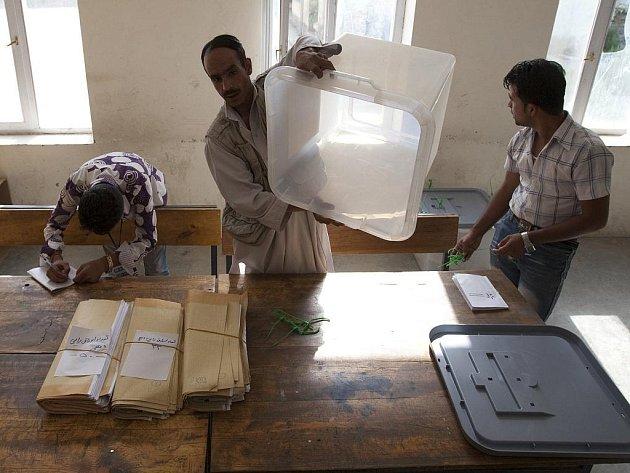 Prezidentské volby v Afghánistánu.