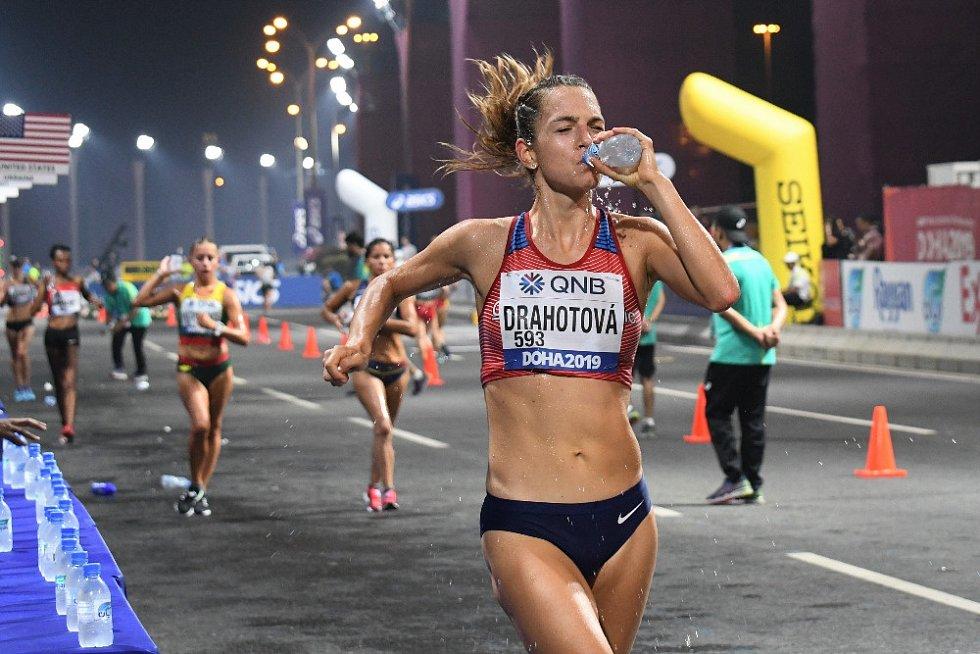 Anežka Drahotová, 20 km chůze