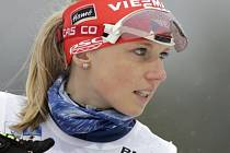 Biatlonistka Eva Puskarčíková.