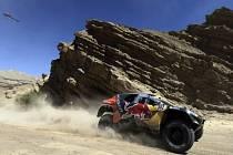 Stephane Peterhansel na Rallye Dakar.