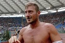 Francesco Totti z AS Řím.