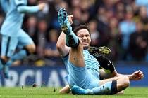 Frank Lampard z Manchesteru City proti Tottenhamu.