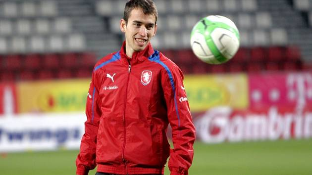 Záložník Plzně a fotbalové reprezentace Tomáš Hořava.