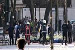 Výbuch v centru Istanbulu zabil několik lidí.