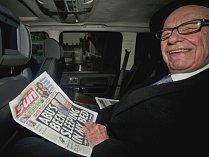Mediální magnát Rupert Murdoch.