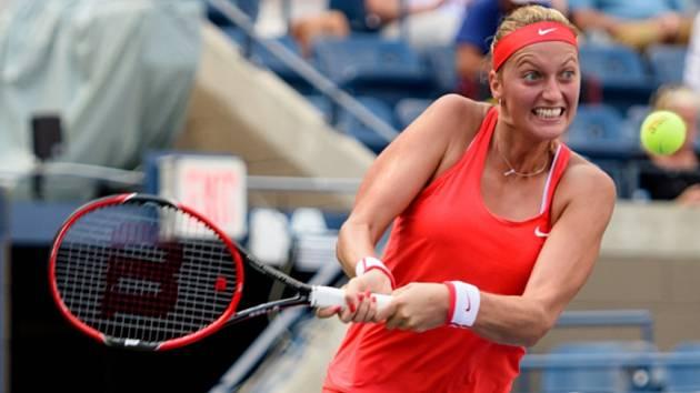Petra Kvitová ve čtvrtfinále US Open.
