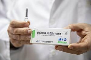 Čínská vakcína Sinopharm proti nemoci covid-19