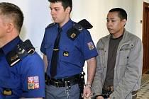Vietnamec Tam Vo Minh u soudu