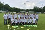 FC Vřesina U15 st. žáci. Historický postup do krajského přeboru pro ročník 2019/2020.