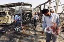 Teroristické útoky v Iráku u města Násiríja