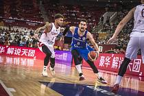 Utkání basketbalového mistrovství světa mezi Českem a Tureckem