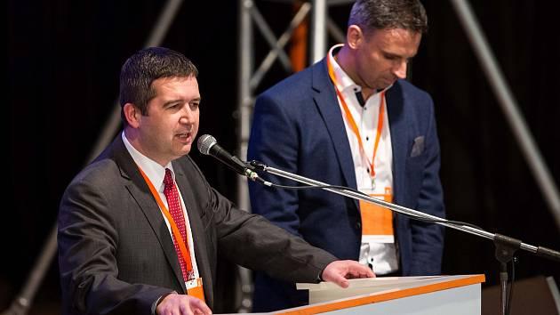 Předseda ČSSD Jan Hamáček (vlevo), Jiří Zimola