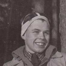 Jiří Navrátil na táboře Hochů od Bobří řeky v roce 1941