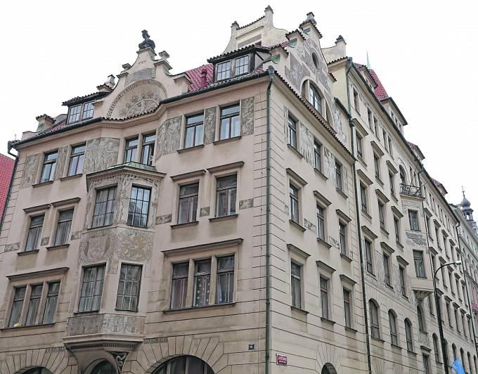 Hlávkova kolej v Praze.