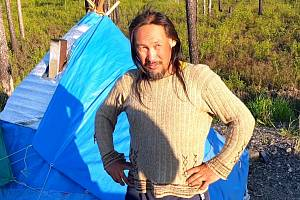 Jakutský šaman Alexandr Gabyšev