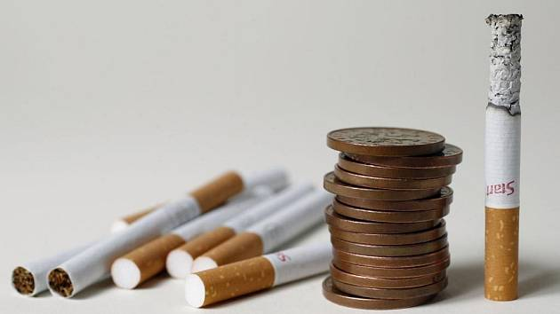 Kouření šlapky