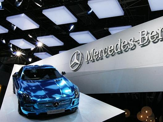 Nový Mercedes SLS AMG Electric