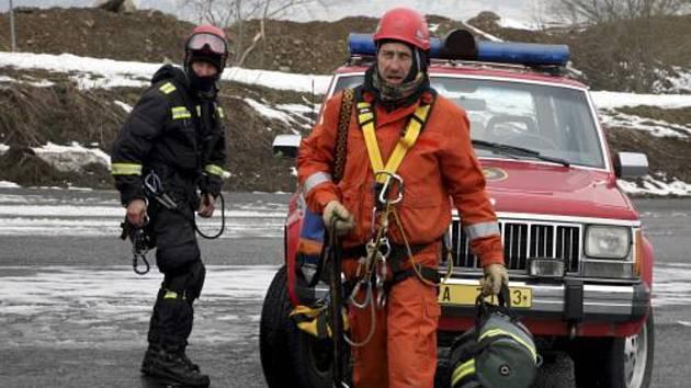 Záchranáři na horách v akci. Ilustrační foto
