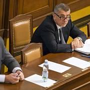 Milan Chovanec a Andrej Babiš