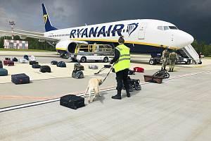 Letoun společnosti Ryanair byl v Bělorusku přinucen k přistání