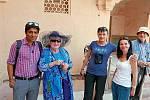 S turisty v severní Indii.