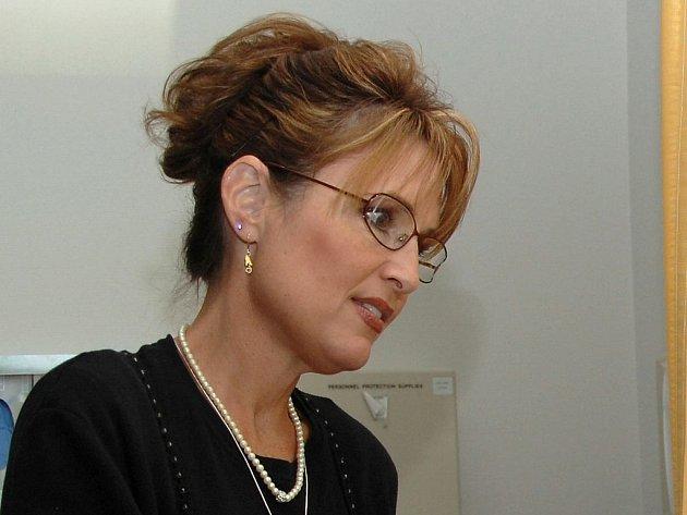 Aljašská guvernérka Sarah Palinová