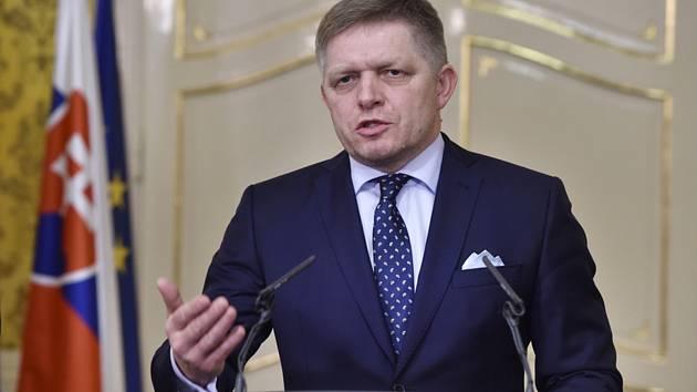 Slovenský expremiér Robert Fico.