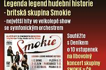 Soutěžte s Deníkem o deset vstupenek na koncert Smokie.