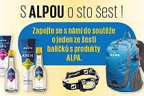 Zapojte se snámi do soutěže o jeden ze šesti balíčků sprodukty ALPA