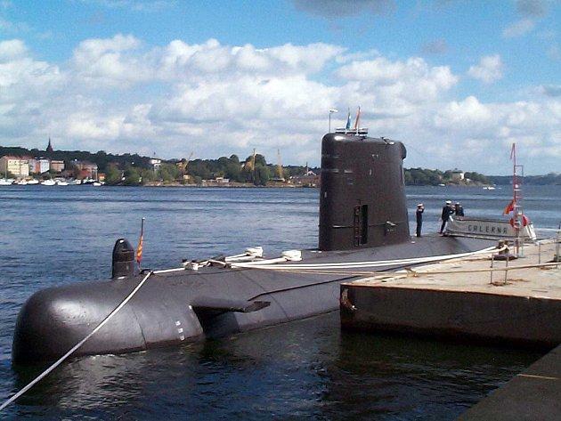 Současná ponorka španělského námořnictva S-71