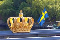 Švédské státní symboly. Ilustrační foto.