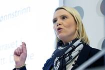 Norská ministryně pro imigraci a integraci Sylvi Listhaugová zpřísnění azylových zákonů považuje za nezbytné.