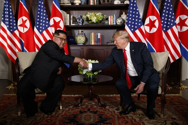Schůzka Donalda Trumpa s Kim Čong-unem