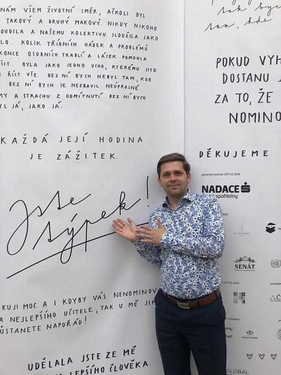 Vítěz Global Teacher Prize Václav Fiala ze ZŠ Brigádníků v Praze 10
