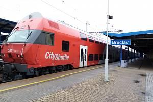 Zmodernizovaný železniční uzel Břeclav