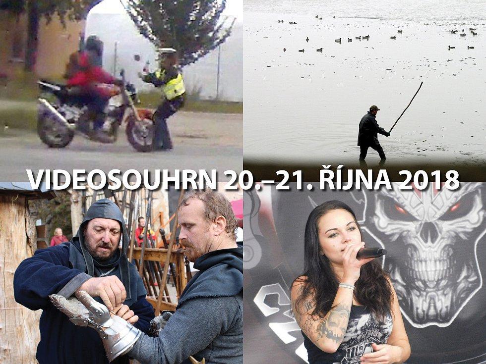 Videosouhrn 20.–21. října 2018