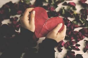 Zlomené srdce - Ilustrační foto