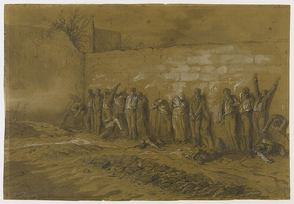 Alfred-Henri Darjou: Poprava komunardů