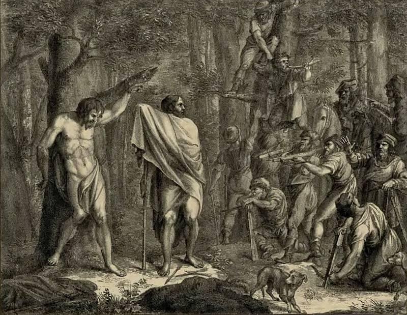 Kníže Jaromír byl v roce 1003 přepaden konkurenčním rodem Vršovců, kteří ho na vrchu Velíz svlékli a přivázali k pohanskému (Velesově) dubu (podle jiné verze přes něj nechali skákat koně)
