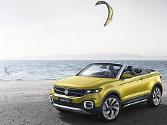 Koncept Volkswagen T-Cross Breeze.